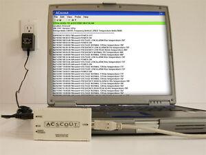 ACScout Power Quality Analyzer - Monitor Power and Analyze Freq