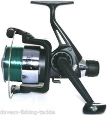 NGT Tz40r Black Coarse Fishing Reel With 8lb Line