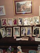 Scarlett O'Hara G WTW Franklin Mint DOLL W/ 12 DRESSES & PAPERS-NEW