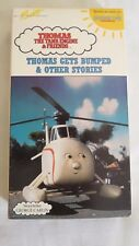 THOMAS THE TANK ENGINE~THOMAS GETS BUMPED & OTHER STORIES~1992, VHS ~ 1+ SHIP