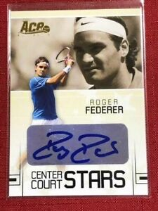 TENNIS 2006 Ace Authentic Grand Slam Roger Federer #cc-18 Autographed / Signed
