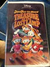 Ducktales The Movie: Treasure of the Lost Lamp (Disney VHS, 1991)
