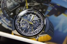 ECO Drive AT8020-03L Citizen blue angels Sapphire Radiocontrollato WR200M (34)