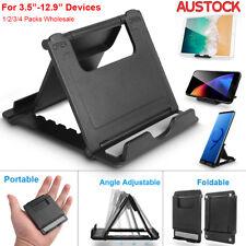 Universal Desk Stand Mobile Phone Tablet Holder Adjustable Foldable Portable -AU