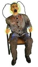 Halloween Animated Electrocuted Prisoner Prop