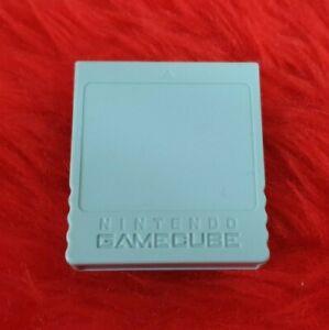 Gamecube MEMORY CARD 59 blocks OFFICIAL 4mb Nintendo