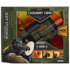 New Spy Net Covert Ops Vibrasonic Binoculars 4x Mag Jakks Pacific Military Tech
