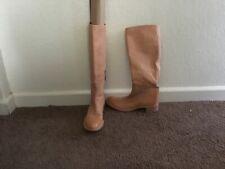 Prada Tan Riding Boots Size 7.5