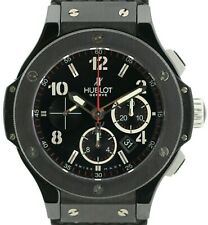 Hublot big bang Black Magic Automatik chronograph Titanium cerámica ref. 301