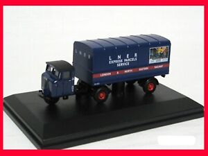 Scammell Mechanical Van Trailer - LNER livery - 00 1:76 scale #MH004