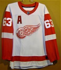 DETROIT RED WINGS #63 SULLIVAN WHITE HOME NHL JERSEY