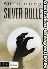 Silver Bullet DVD NEW, FREE POSTAGE WITHIN AUSTRALIA REGION ALL