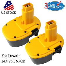 2x  for Dewalt DC9091 14.4V XRP Battery DW9091 DW9094 Ni-CD Extended Power Tools