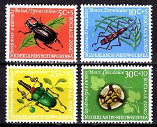 Dutch New Guinea - 1961 Insects / Beetles - Mi. 69-72 MH