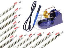 5PCS T12 Series Solder Iron Tips For Hakko  FX-9501 FX-951 handle/base