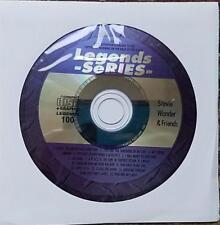 LEGENDS KARAOKE CDG STEVIE WONDER & FRIENDS #100 R&B OLDIES 15 SONGS JUST CALLED