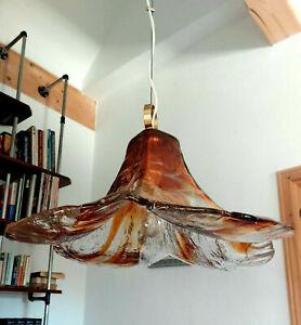 XL Mazzega Murano Glas Lampe von Kalmar Franken
