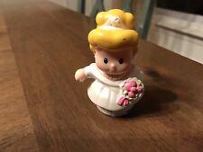 Mattel Fisher-Price Disney Little People Cinderella  Wedding Dress%