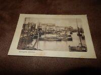 1911 Kent Postcard - Harbour & fishing boats- Ramsgate