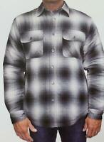 NEW! Grizzly Mountain Men's Sherpa Lined Shirt Jacket VARIETY SZ/CLR - E53