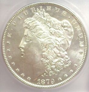 1879-S MORGAN SILVER DOLLAR ICG MS 65 LISTS FOR $240!!