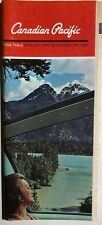CANADIAN NATIONAL RAILWAYS Time Table April 30, 1967