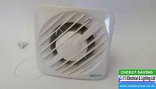 """Greenwood AXS 100 sviht 4"""" Cuarto de Baño/Inodoro Ventilador Temporizador de baja tensión/humedad/"""