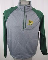 Oakland Athletics Men's Large 1/4 Zip Pullover Fleece MLB