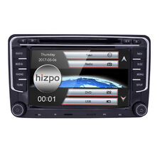 "7"" GPS Navigator 2DIN Radio Car Stereo DVD Video BT SWC Aux Can-bus for VW Skoda"