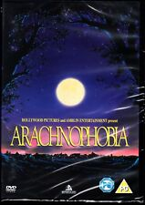 ARACHNOPHOBIA (1990) DVD BLACK COMEDY HORROR  JEFF DANIELS JOHN GOODMAN REGION 4