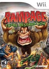 Rampage: Total Destruction - Nintendo  Wii Game