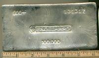 Engelhard 100 oz Silver Bar 999+ 131317 Bullhorn