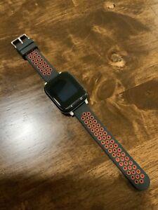 Gizmowatch Gizmo Watch Smartwatch Verizon Wireless - Black With Red Band