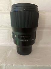 Sigma 135mm F1.8 Art DG HSM for Sony E