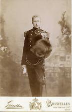 Albert, Prinz von Belgien Vintage silver print. Albert I ( né le Prince Albert
