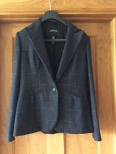 Ralph Lauren ladies 100% wool black/grey/purple long sleeved jacket  UK 12, US 8