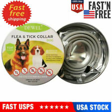 New Dewel Flea and Tick Control Collar for Large Dog 8 Month Protection Treatmen