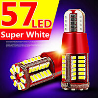 T10 194 168 3014 57-SMD 5W Led Canbus Bulbs Back Up Reverse Light White 12V New