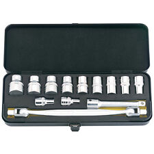 """ELORA 13 PIECE 1/2"""" SQ. DR. DOUBLE END SWIVEL SOCKET WRENCH SET 124-S6 40965"""