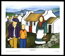 At Kitty's/Northern/Irish Art Group/Fine Print/Martin Laverty/Ireland/New