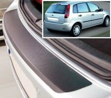Ford Fiesta MK6 - Carbon Style rear Bumper Protector