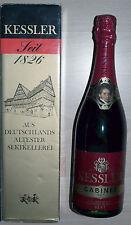 Originaler Kessler Cabinet Rot Sekt 750 ml garantierte Flaschengärung + NEU