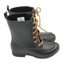 SPERRY Top-Sider Womens Walker Wisp Black Rain Boots Size 6 NEW