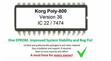 Korg Poly-800 - Version 830236 #36 Firmware Update Upgrade [OS] for Poly800