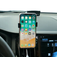 Black Car Air Vent Mount Cradle Cell Phone Holder Stand For Volvo XC60 2018-2020