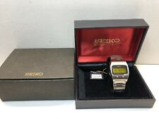 Rare SEIKO 0624 5000 1974 LC Quartz LCD Digital watch Lemon 06LCA Uhr MOT