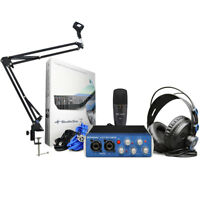 Presonus Audiobox 96 Studio Recording Set + Gelenkarm Stativ