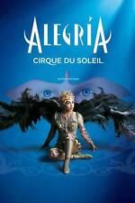 CIRQUE DU SOLEIL - ALEGRIA Movie POSTER 24x36 Cirque du soleil