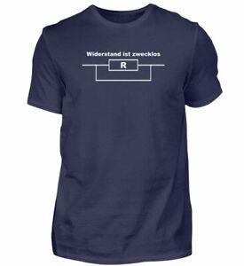 Widerstand ist zwecklos - Herren Premium T-Shirt
