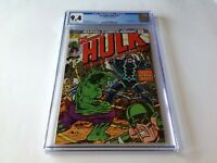 INCREDIBLE HULK 175 CGC 9.4 WHITE PAGES BLACK BOLT INHUMANS MARVEL COMICS